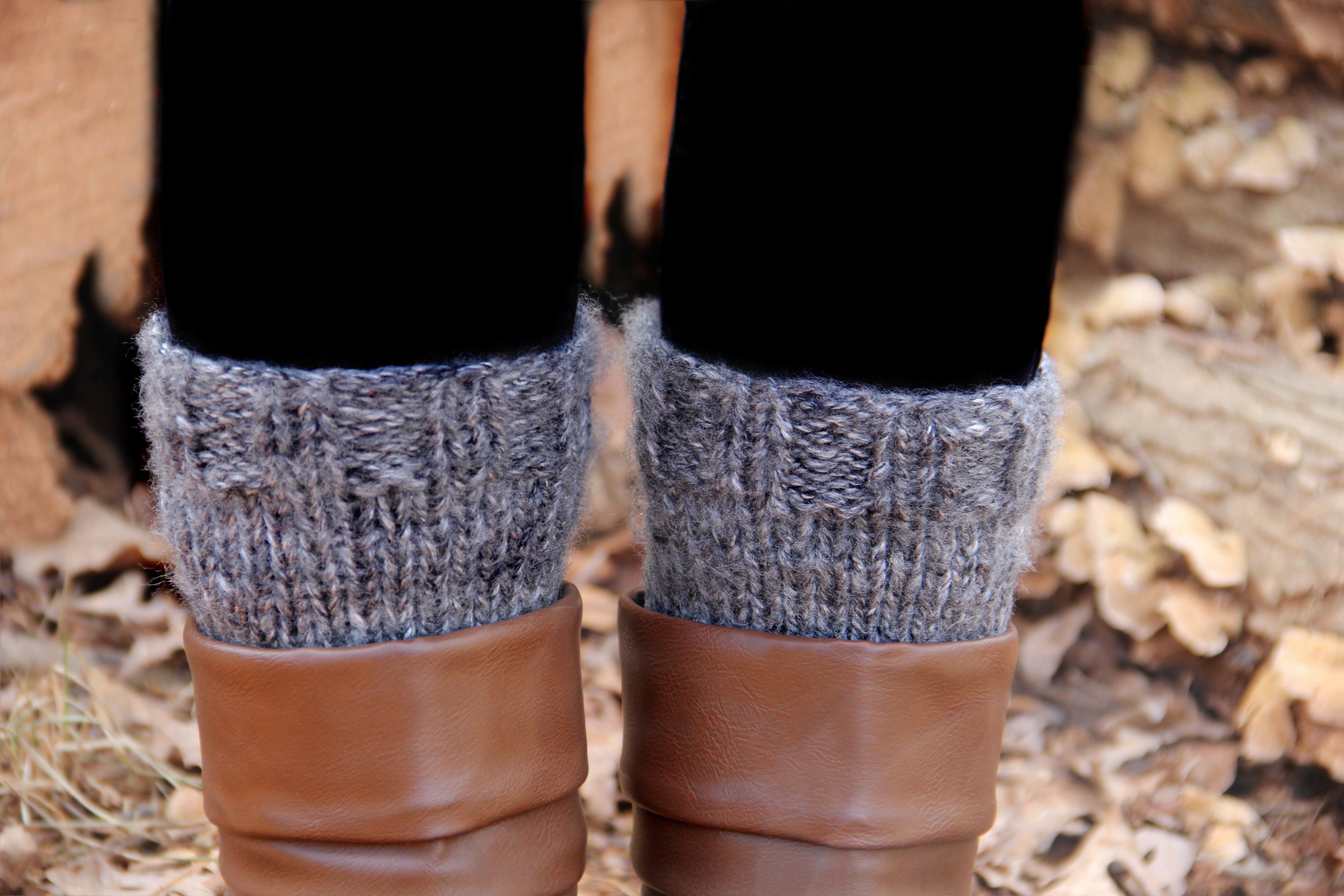 Knitted Boot Cuffs Knitting Boot Cuffs And Legwarmers