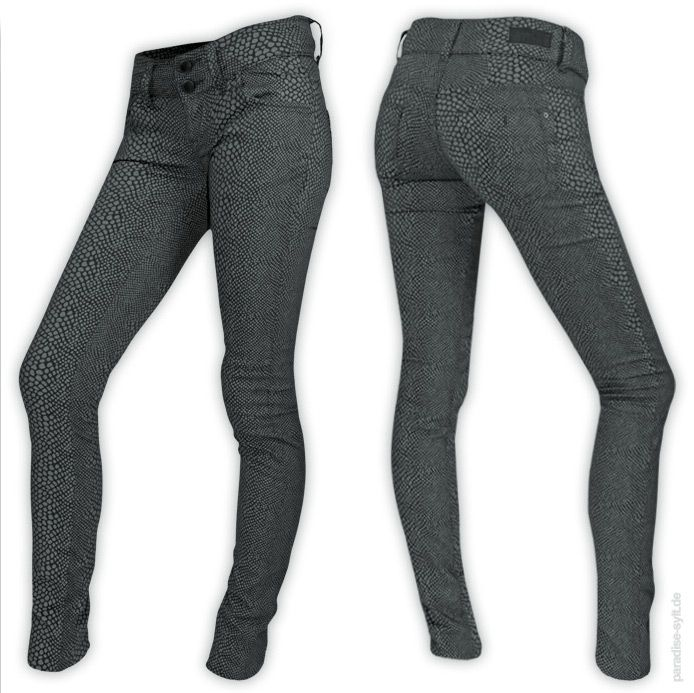 15cf58360562 LTB Jeans MOLLY Bequeme Stretch-Denim im Leoparden-Look. Super Slim Fit  hoher