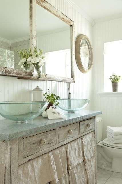 Arredamento in stile provenzale per la casa - Accessori in bagno ...
