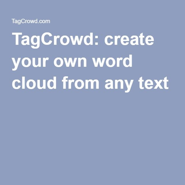 create your own word