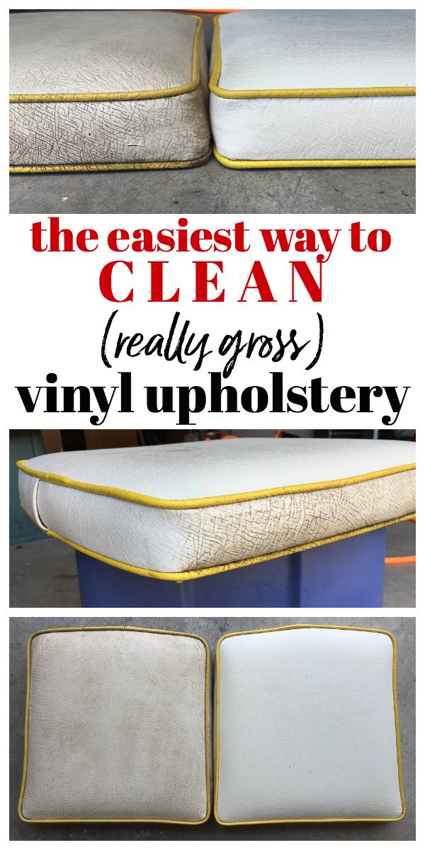 How To Clean Vinyl Upholstery Upholstery How To Clean Furniture