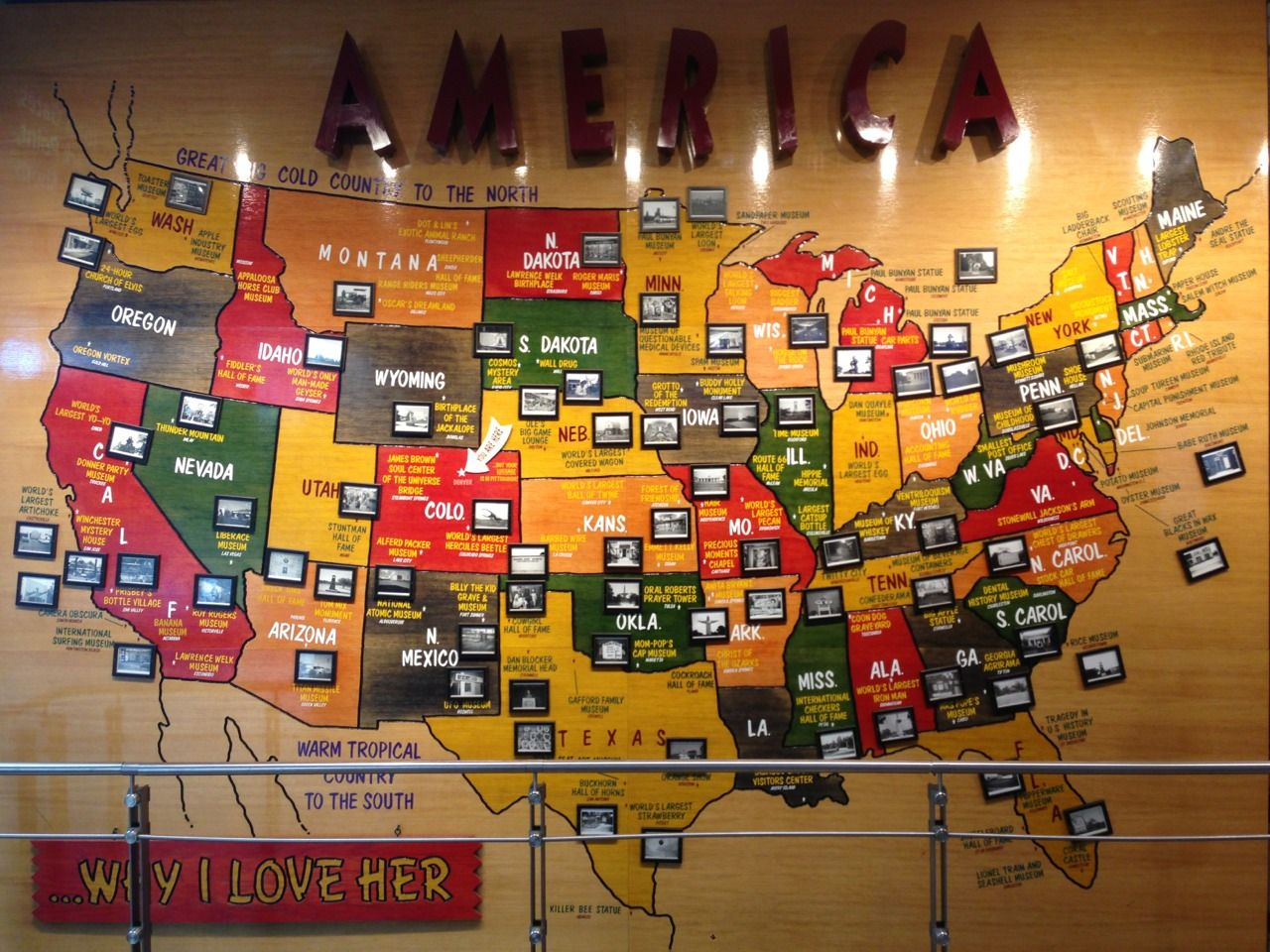 America Why I Love Her Denver Airport Oct A Map Of - Map of museums in the us
