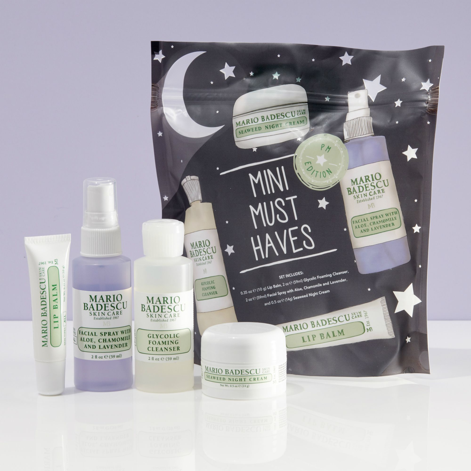 Mario Badescu Mini Must Haves Set Pm Edition In 2020 Skin Care Kit Mario Badescu Affordable Skin Care