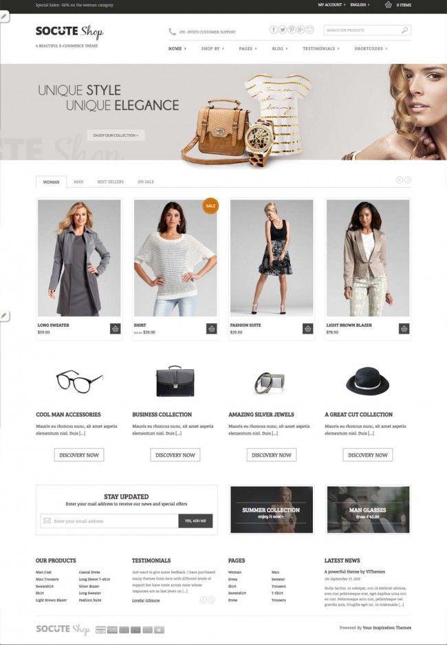 free-responsive-woocommece-ready-wordpress-theme   Web Design ...