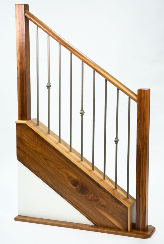 Best New Finish Ash Grey Ag Stair Display Stairs 640 x 480