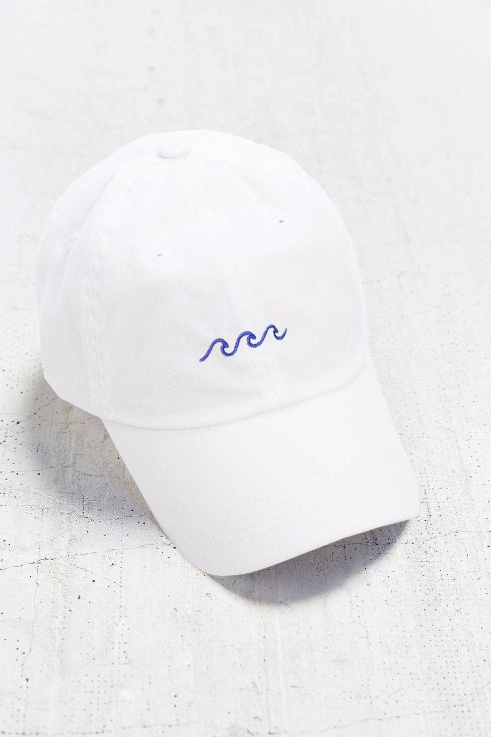 Wave Baseball Cap - Embroidered Baseball Caps - Baseball Hat - White Baseball  Cap - Tumblr f04414ba106b