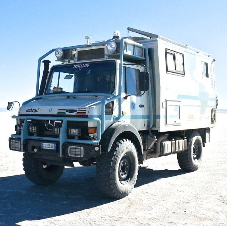 Mercedes Unimog Camper Overland Vehicles Overland Truck