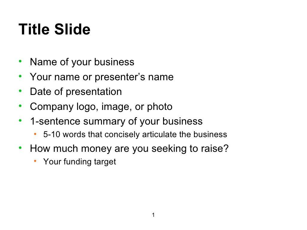 business plan presentation template by jeffchung via slideshare
