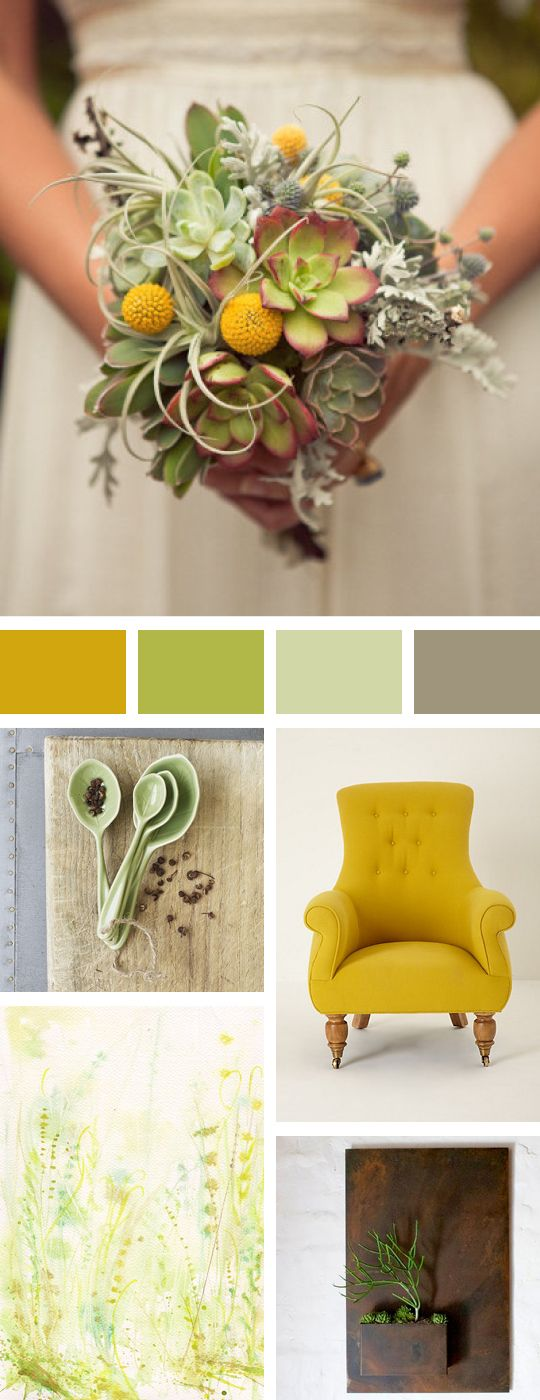 wedding bouquet color inspiration