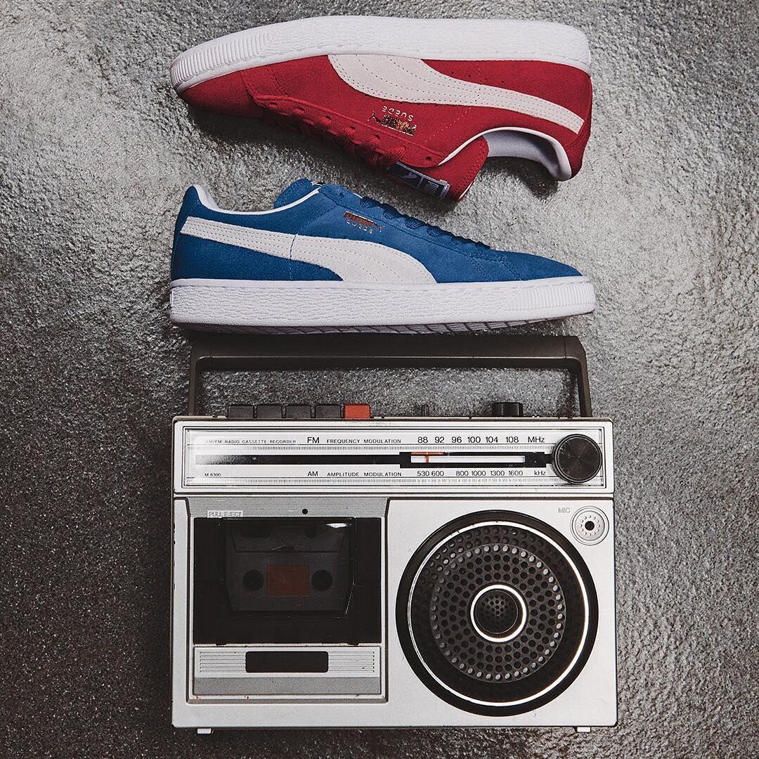 Suede Puma classic sneakers