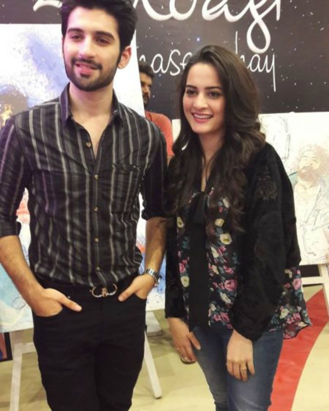 famous onscreen couple aiman khan and muneeb butt has recently famous onscreen couple aiman khan and muneeb butt has recently got engaged this has