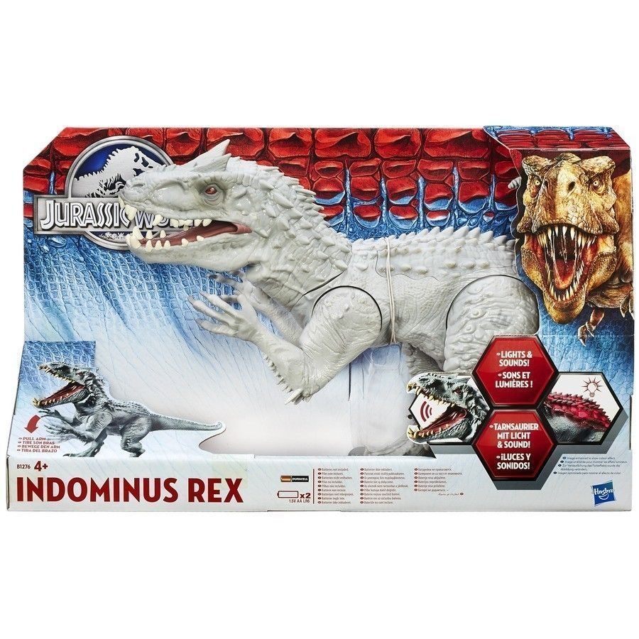 Figura Muneco Jurassic World Indominus Rex Oficial Con