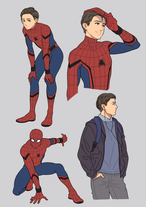 Spider Man Homecoming Adorable Drawings By Yukkoyy Dessin