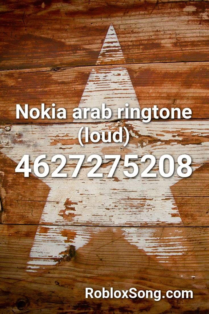 Roblox Arabic Nokia Ringtone Roblox Free Accounts Not Banned Nokia Arab Ringtone Loud Roblox Id Roblox Music Codes In 2020 Roblox Tracer Minecraft Music