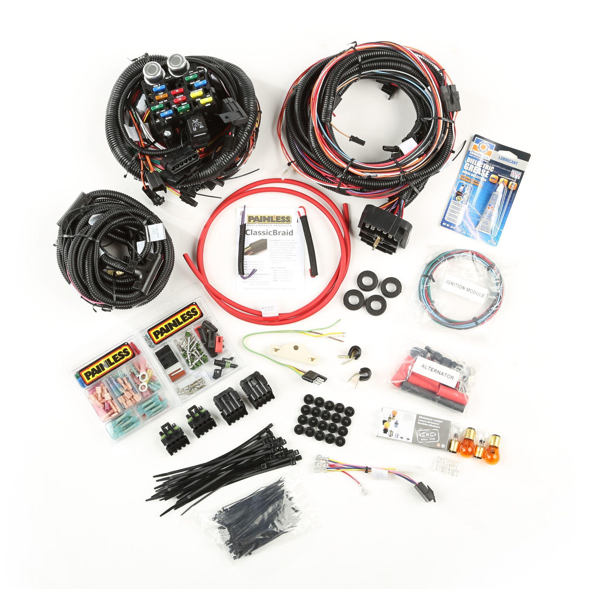 full wiring harness jeep cj7 cj5 cj8 cj6 scrambler willys cj fc amc rh pinterest co uk Jeep XJ Wiring Harness Jeep Wiring Diagram
