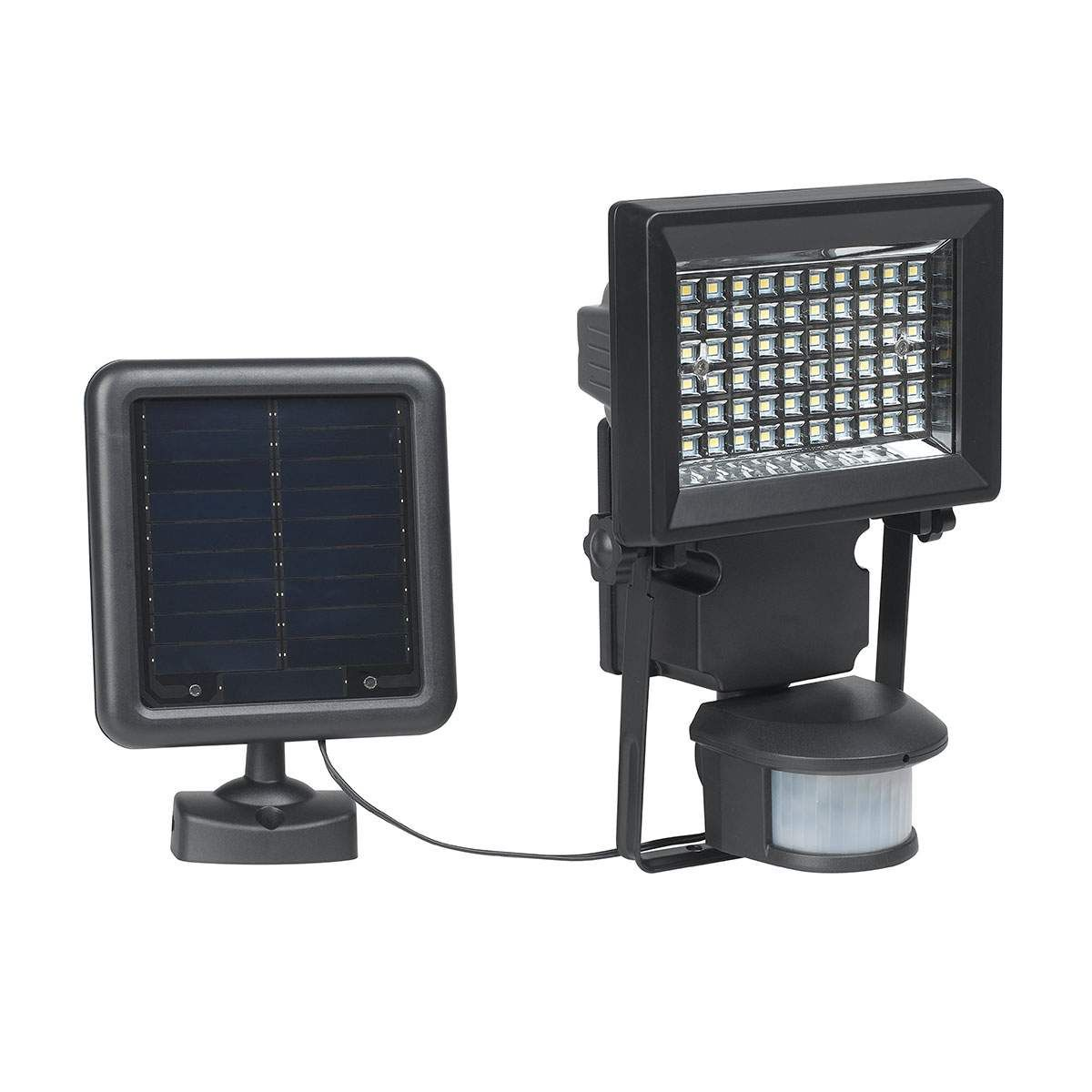 Solar Wandleuchten Luke Von Duracell Schwarz Strahler Mit Bewegungsmelder Sicherheitsbeleuchtung Und Bewegungsmelder