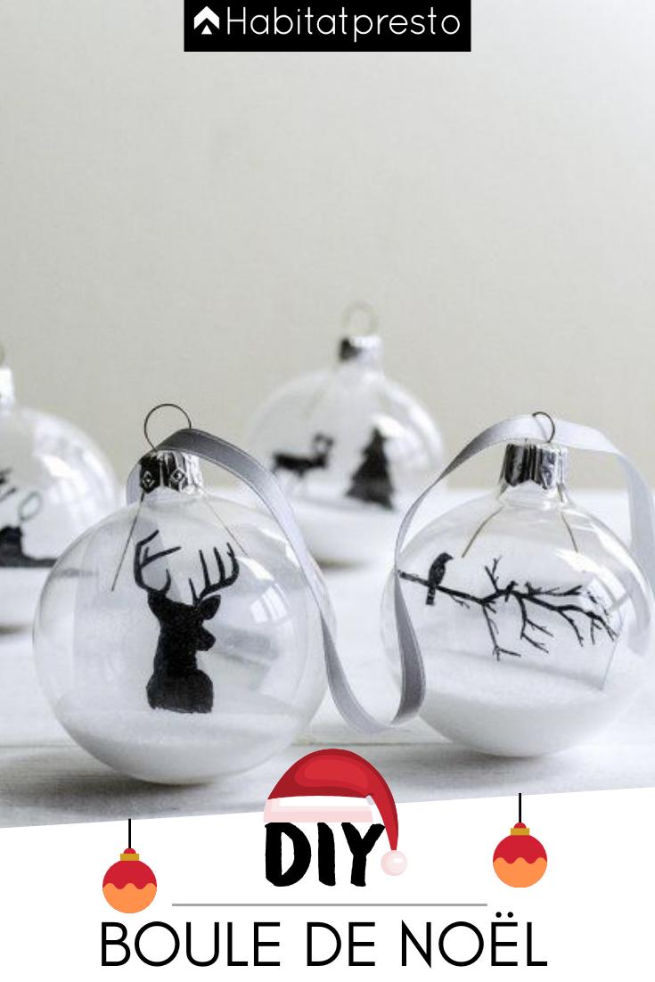 DIY : 6 inspirations de boules de Noël à faire soi-même