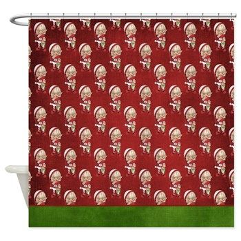 Christmas Elf Fantasy Shower Curtain 9