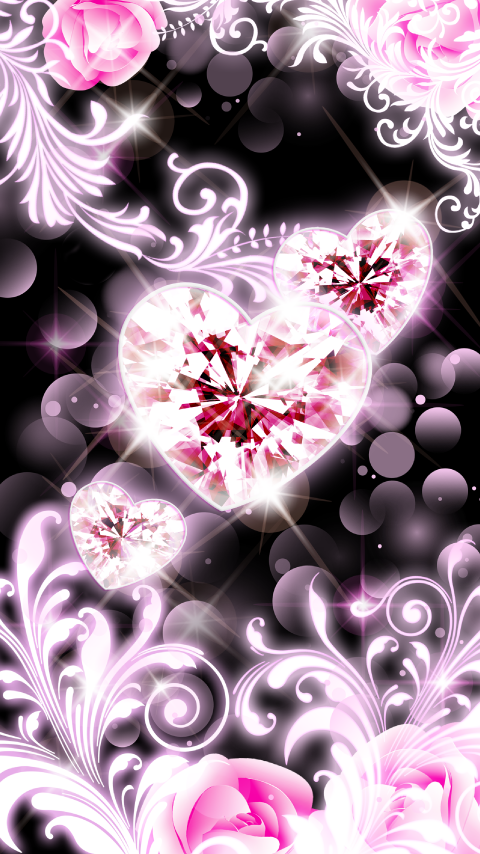 Heart and Rose_きせかえタッチ詳細ページ LOVELY HEART[cmn/detail_ktouch_set_v02::21013]