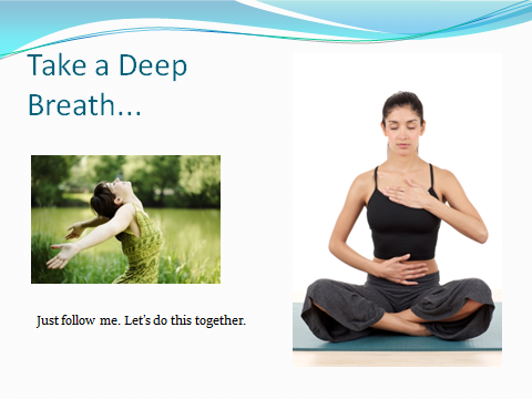god designed our bodies for deep diaphragmatic breathing
