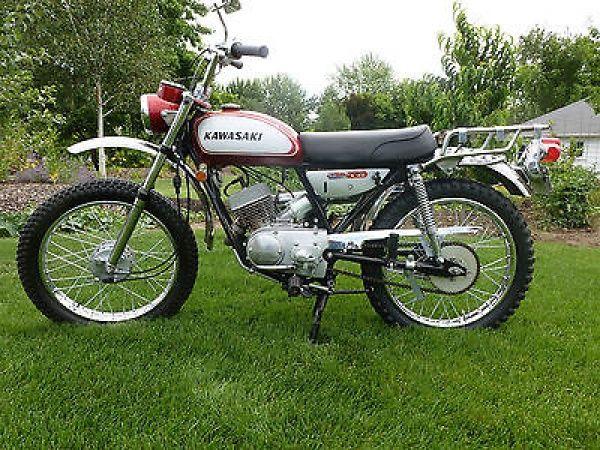 1969 Kawasaki C2tr Roadrunner 120cc Kawasaki Dirt Bikes Kawasaki Bikes Vintage Motorcycles