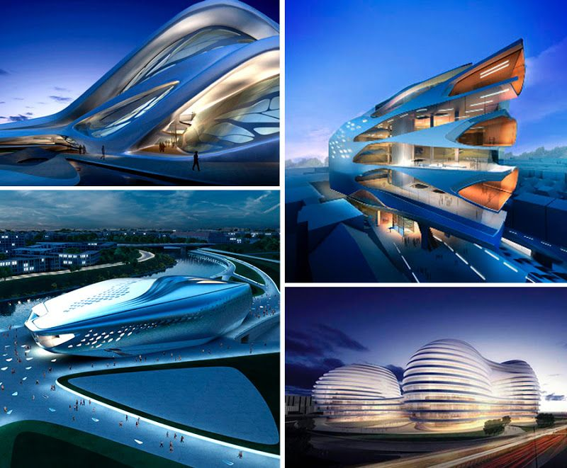 "Modern Architecture Zaha Hadid parametric style: radical architecturezaha hadid ""hadid was"