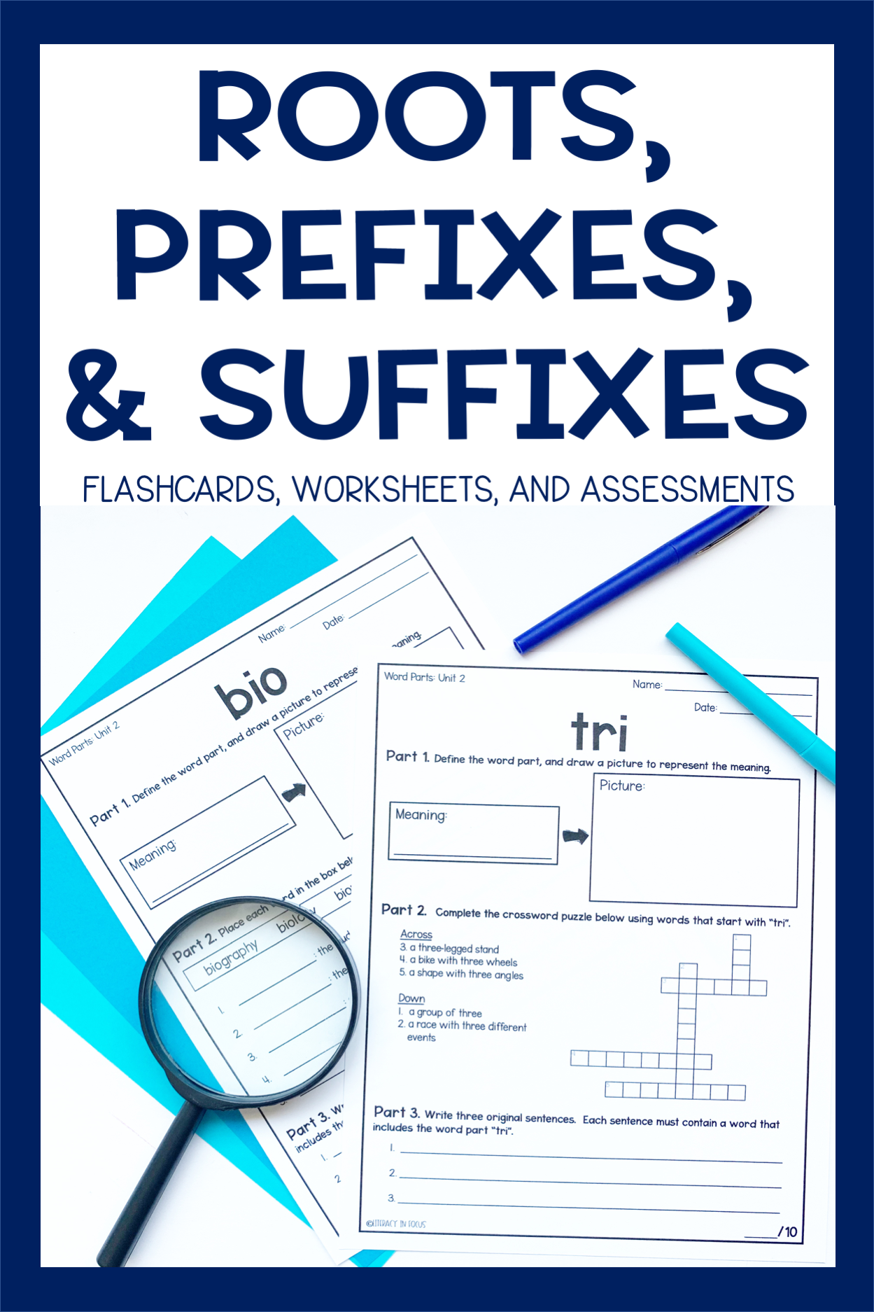 Root Words Prefixes Amp Suffixes Units 1 12 Bundle