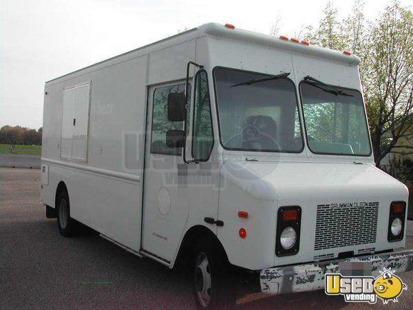 2002 - Grumman Olsen P42 Chevy Workhorse Food Truck!!! | Stuff to