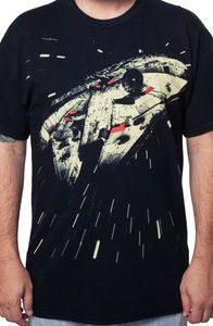 Hyperdrive Millennium Falcon Shirt