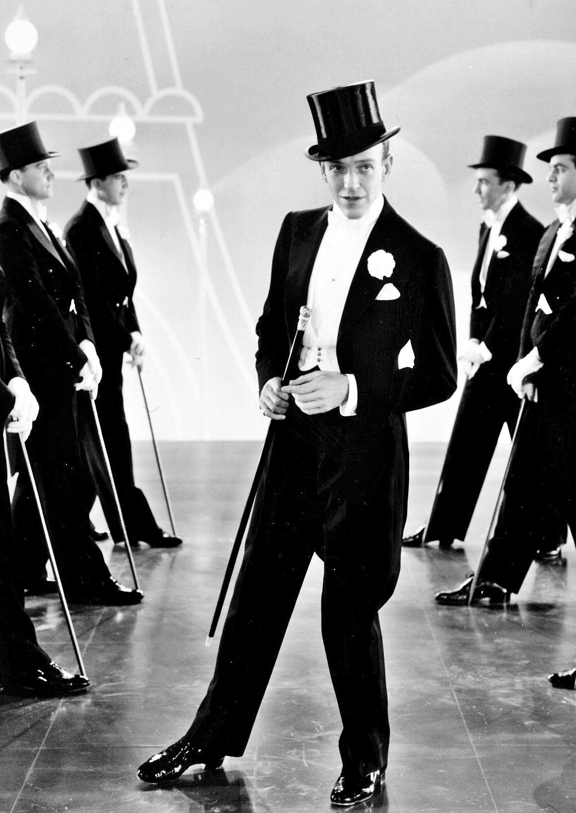 Top Hat (1935) even his speech had the style and rythm of