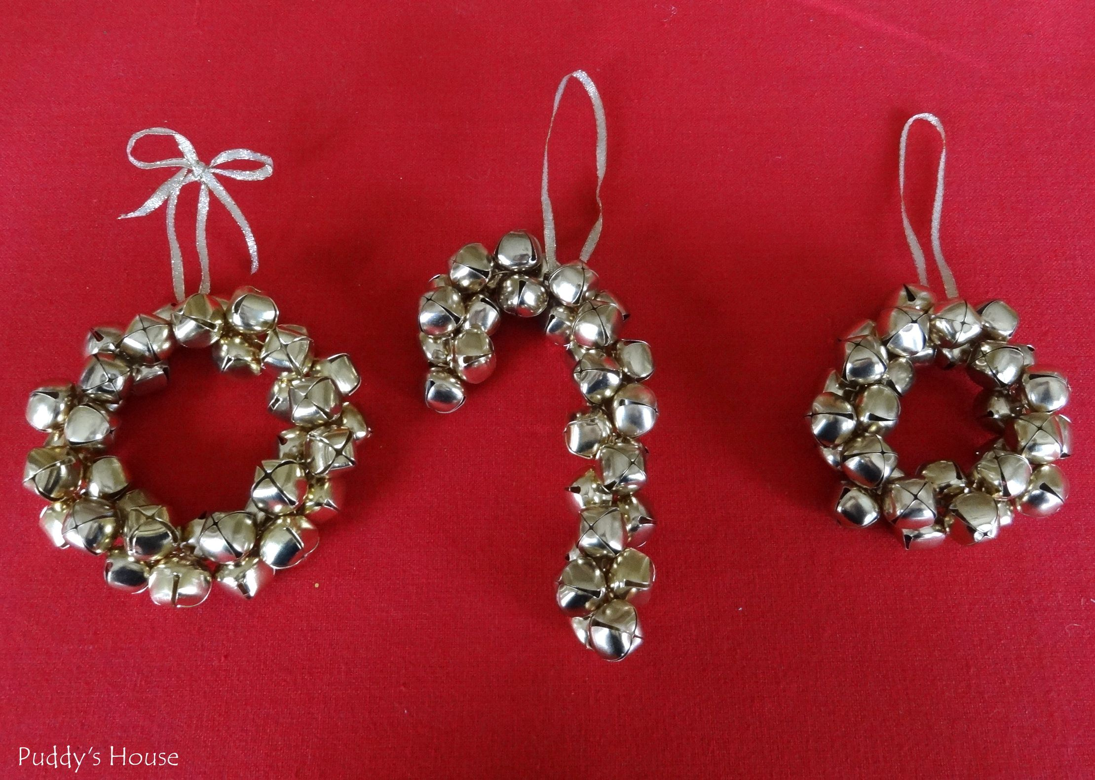 Jingle Bell Wreaths And Candy