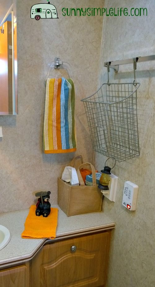Rv Organization Accessories New Accessories For Our Travel Trailer Rv Organization Camping