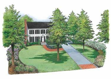 Landscaping A Colonial Home Classic New England Colonial Style