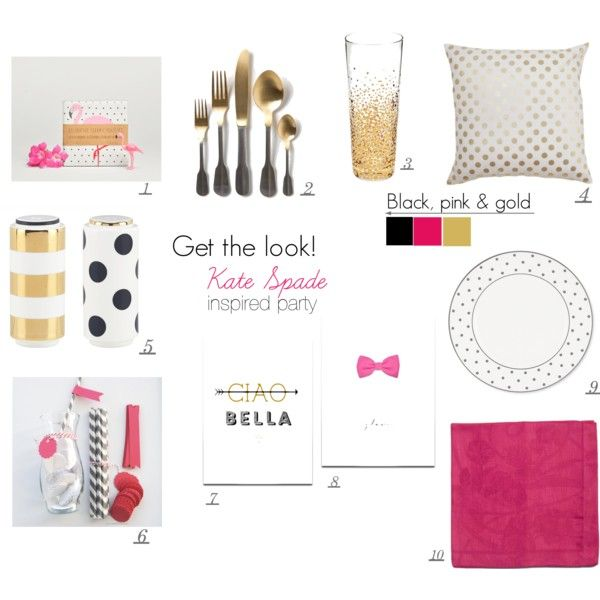 table decor kate spade inspiredinge-picqueur on polyvore