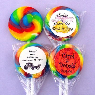how to make rainbow lollipops