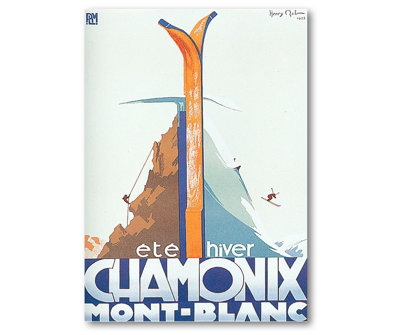 Poster Chamonix, 50 x 70 cm   Westwing Home & Living