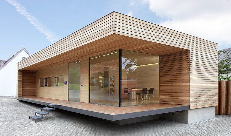 B ro holzbau rupprecht exteriores casas de madera - Casas de madera pequenas y baratas ...