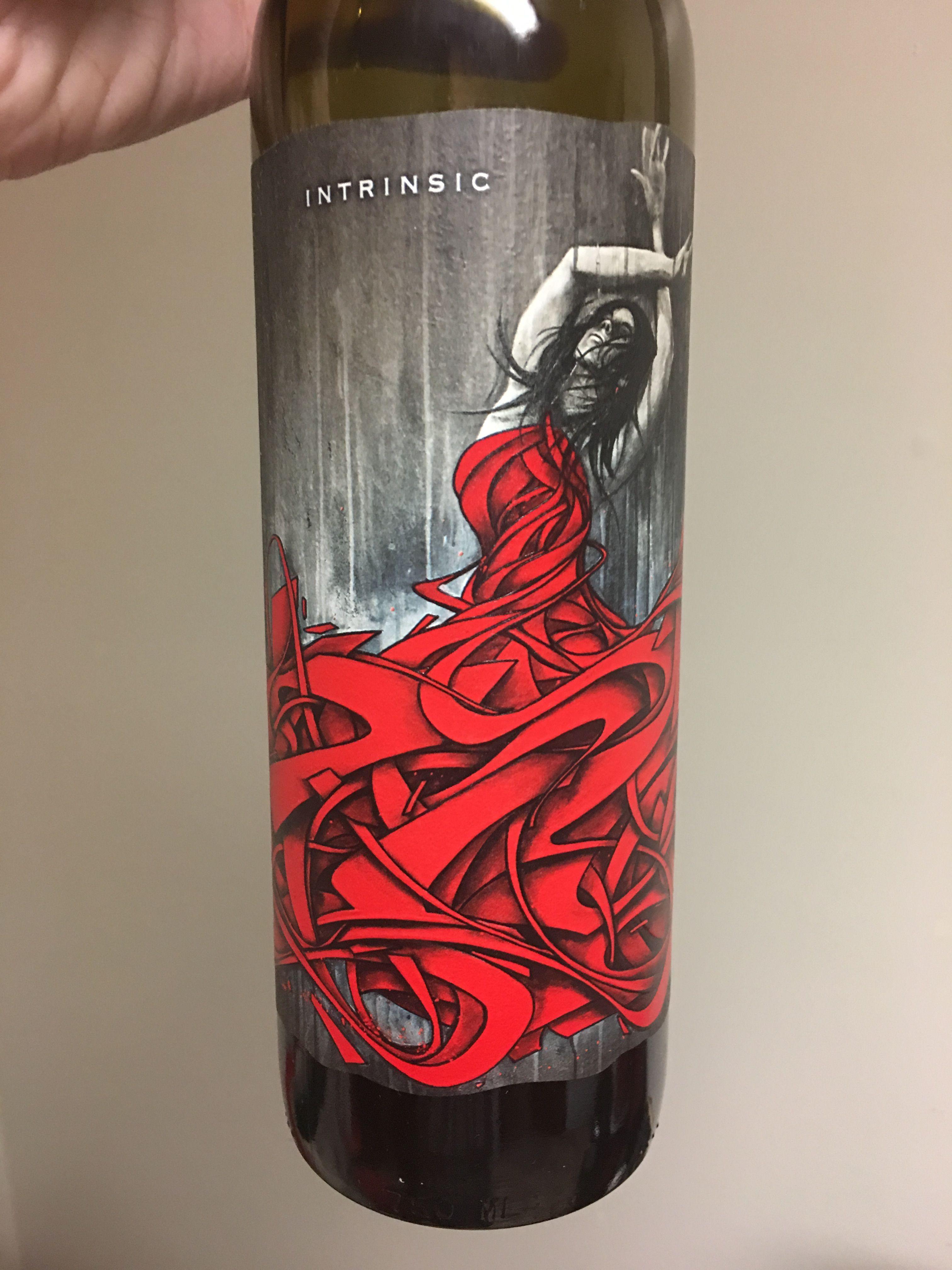 Intrinsic Unique Wine Labels Unique Wines Wine Bottle