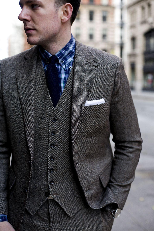 Men's Style Fashion Blog - The Versatile 3 Three Piece Donegal ...