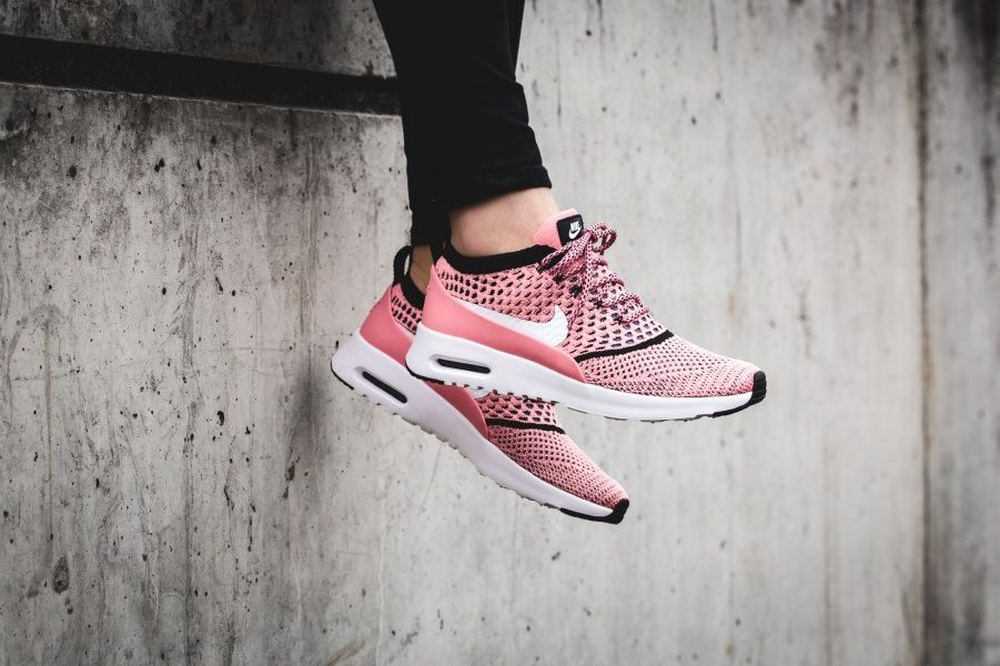 info for d6dc9 01780 WOMENS AIR MAX THEA ULTRA FLYKNIT – Nike Air Max Thea Ultra Flyknit Bright  Melon Black White   EyeConicWear