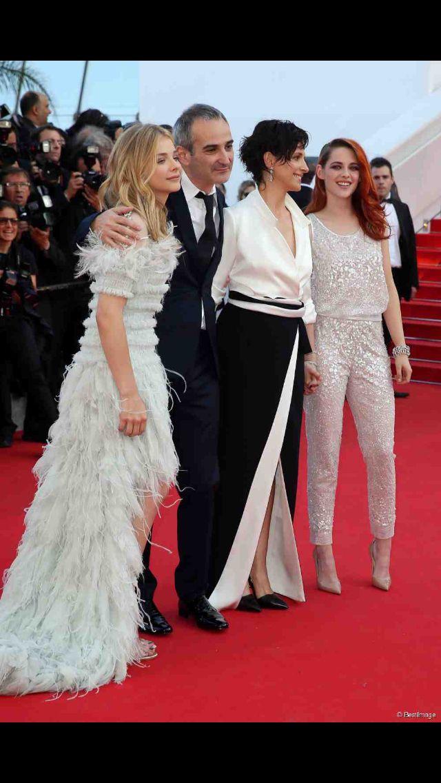 Kristen Stewart, Juliette Binoche and Chloé Moretz