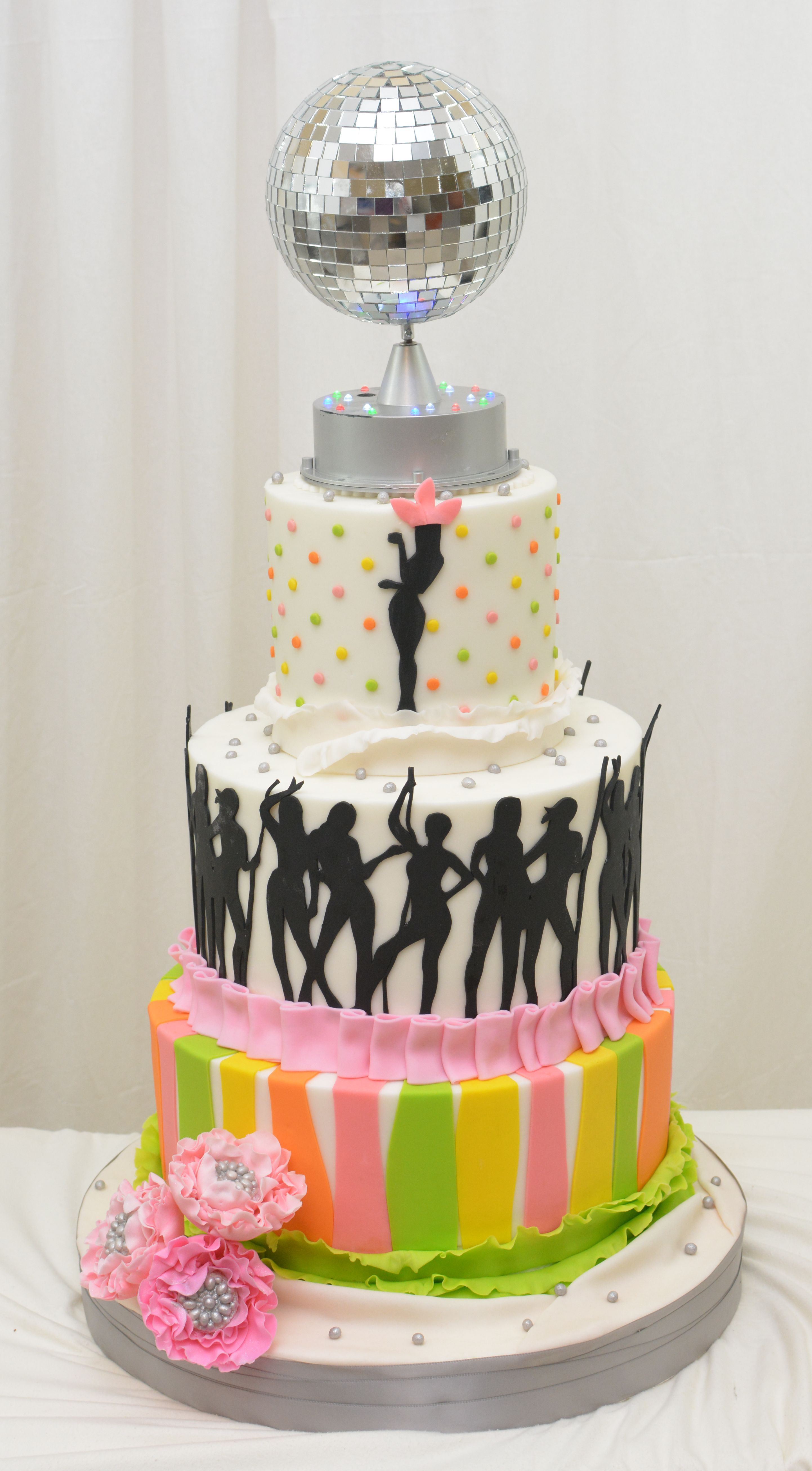 Disco Cake Weddings And Events Pinterest Discos