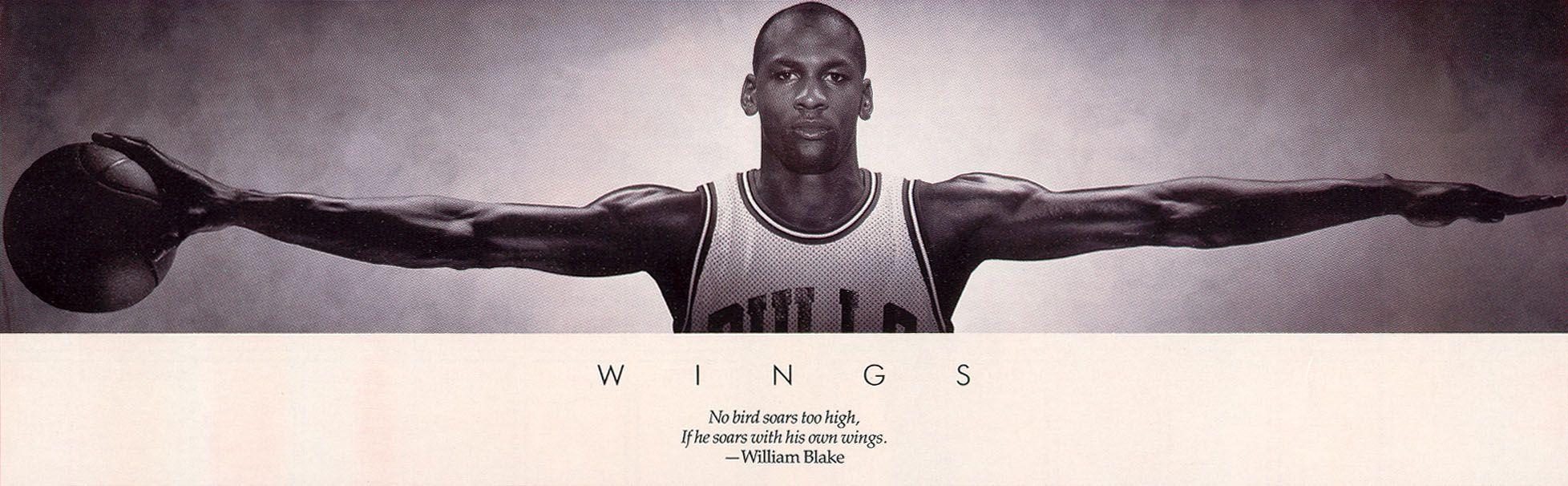 Nike Air Jordan Citation Affiche Des Ailes