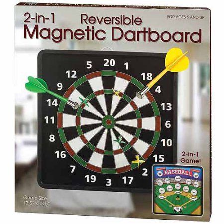 Sports Outdoors Dart Board Magnets Classic Toys