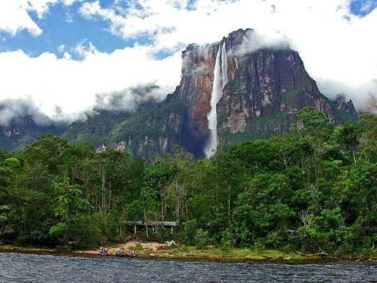 Angel Falls, Venezuela | Angel falls venezuela, Mount ...