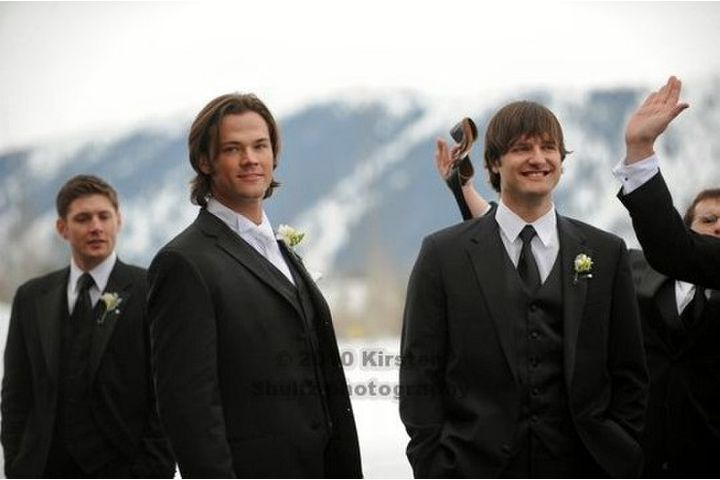 Jensen Ackles Photo At Jared S Wedding