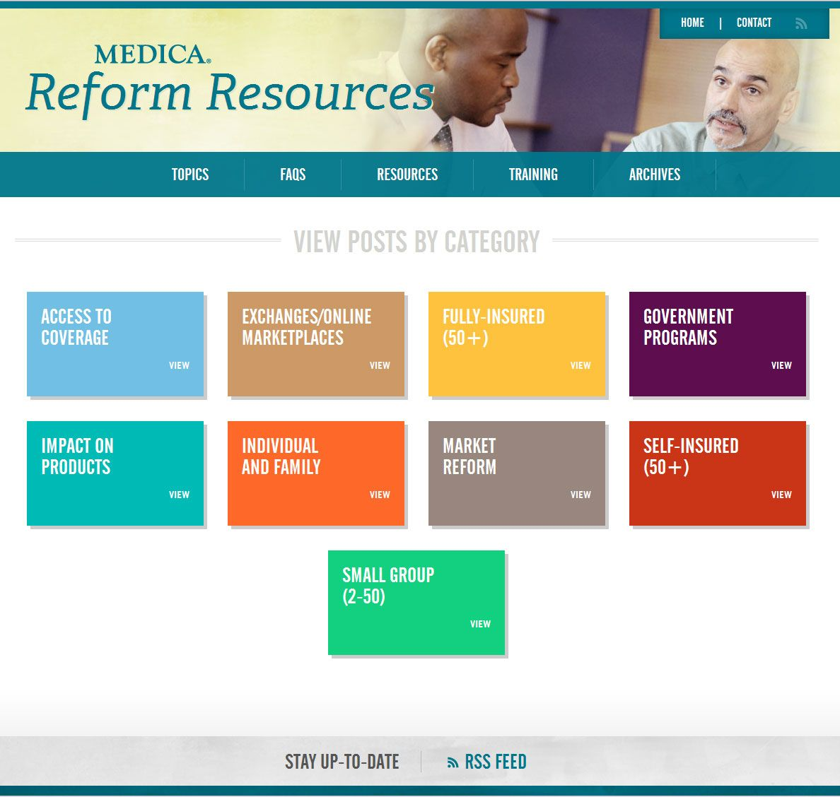 Looking for information on health care reform we can help