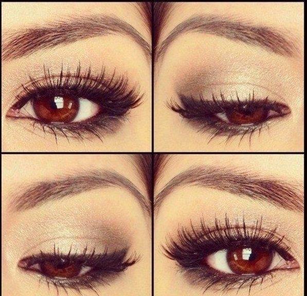 Coole Schminktipps Fur Braune Augen Frisuren Make Up Braune