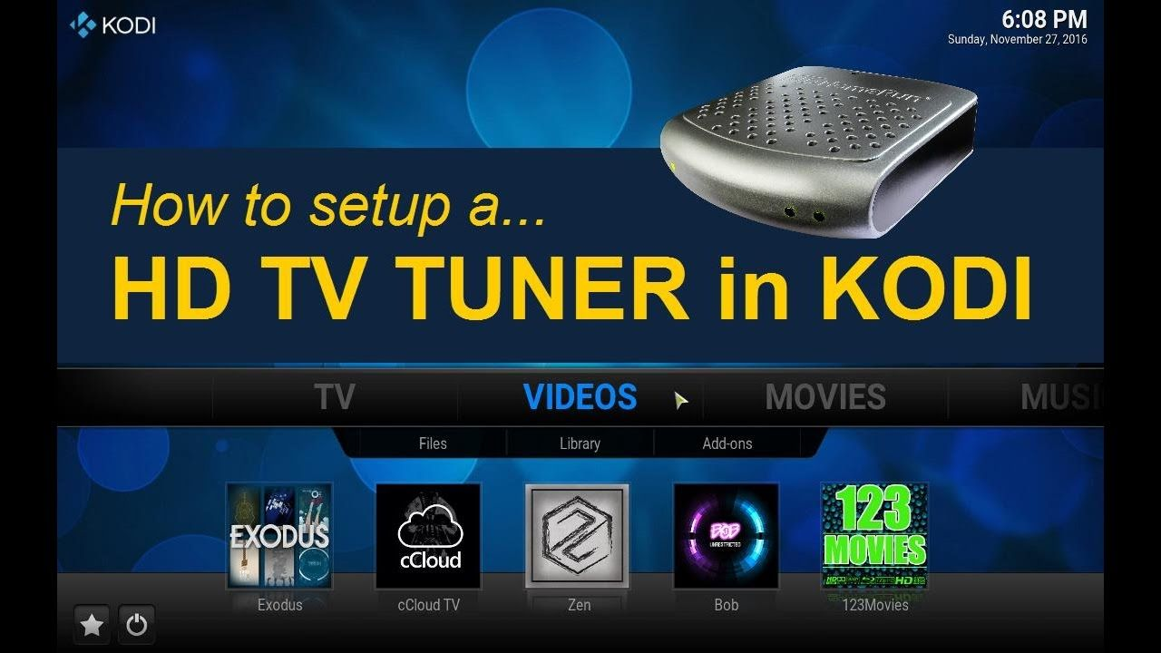 Can You Watch Live Tv On Kodi Fire Stick Tv Tuner For Kodi Firestick Too Youtube Tv Tuner Kodi Kodi Live Tv
