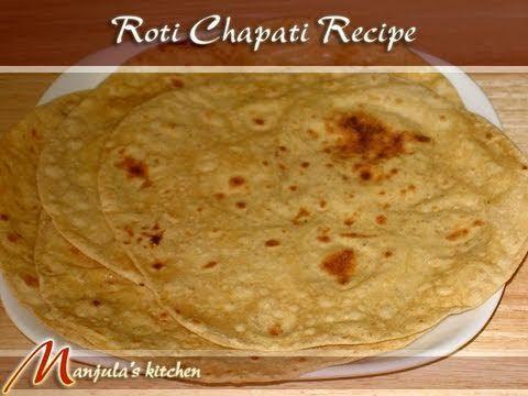 Roti chapati flat indian bread manjulas kitchen indian roti chapati flat indian bread manjulas kitchen indian vegetarian recipes forumfinder Image collections